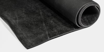 Rugged rubber flooring